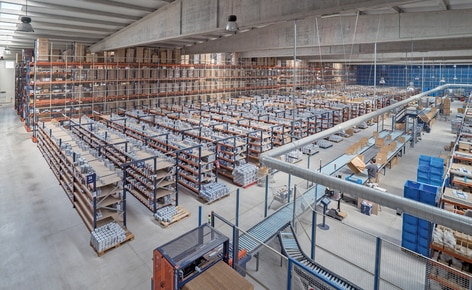 Innovation and agility in the picking of online sales of industrial, hardware and DIY supplies