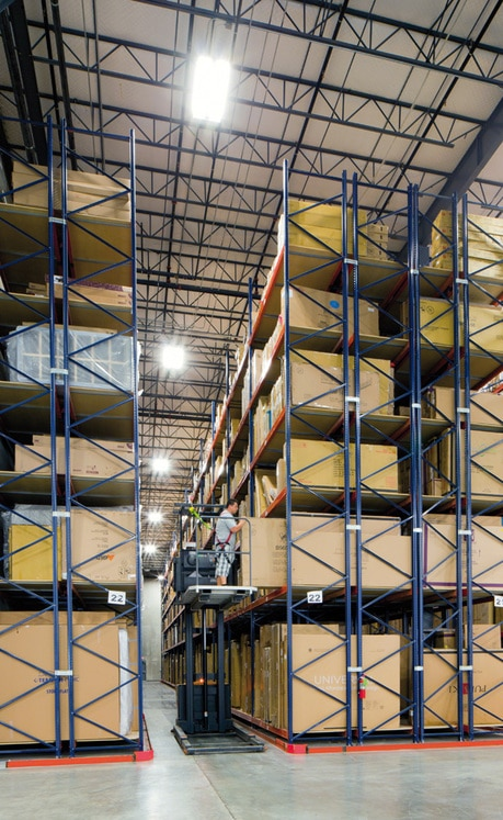 Success story of pallet racking for mathis brothers in usa Warehouse racking layout software free