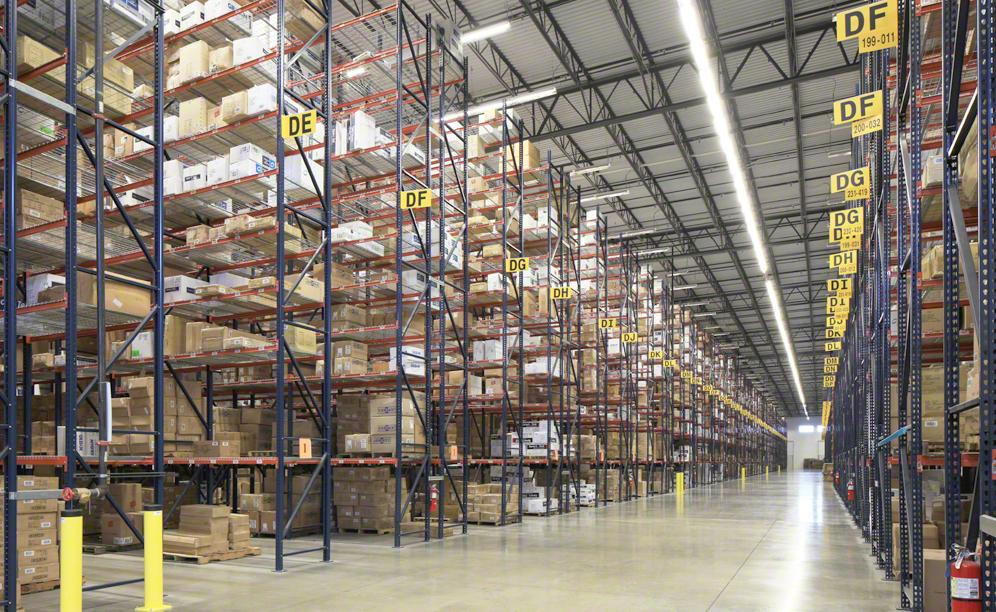 Pallet Racking offers the best solutions for warehouses with palletized products and a wide variety of goods