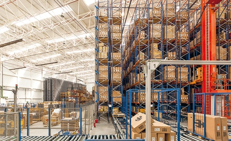 The bike manufacturer BH Bikes automates the storage of pallets and boxes in its new logistics centre in Vitoria