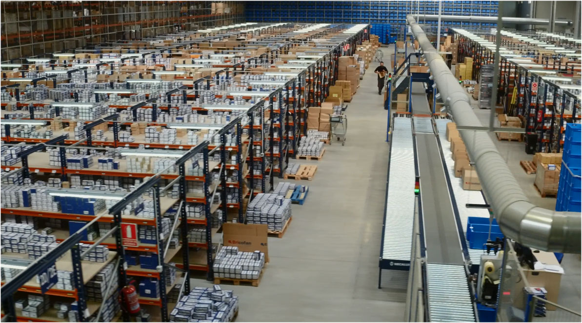 Case study: new Cofan logistics centre